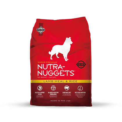 NutraNuggets 羊肉飯配方(成犬糧)