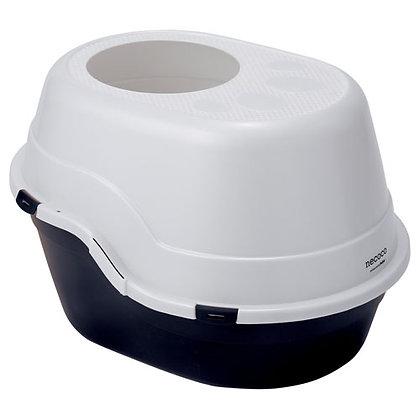Petio necoco封閉式單層貓廁所(黑色) #F26 (W25100)