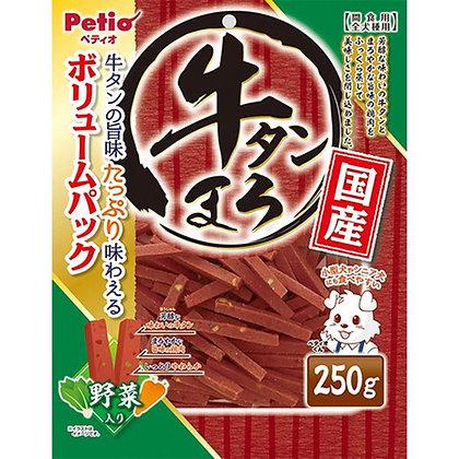 Petio狗小食蔬菜蒸牛舌 250g #A101(W13400)