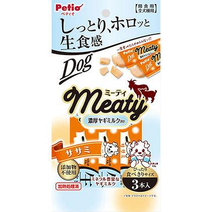Petio狗小食 無添加.生食感 山羊奶&雞胸肉肉醬 3支裝 #A160 (W13542)