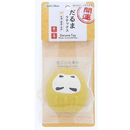 Add Mate開運不倒翁  超柔軟乳膠玩具(黃色)#G121 (A26117)
