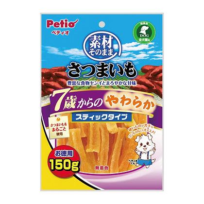 Petio高齡狗小食柔軟甘薯條 150g