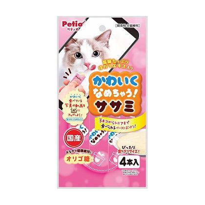 Petio貓小⻝幼滑雞胸肉醬 (4袋裝)