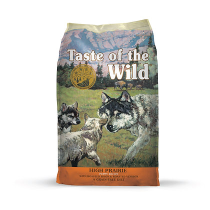 Taste of the Wild無穀物烤野牛+烤鹿肉幼粒配方 (全犬糧|美國版)