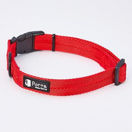 Porta犬用柔軟舒適頸帶 紅色(中)#J69 (W57605)
