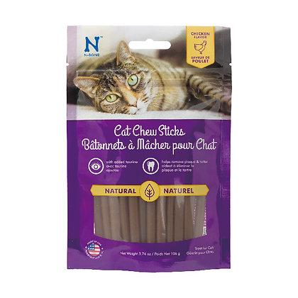 N-BONE 貓小食雞肉味潔齒棒  3.74oz