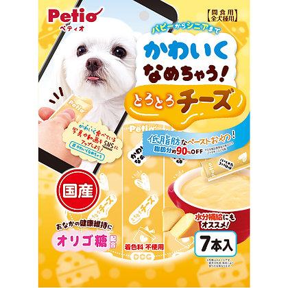 Petio狗小食美味香濃芝士醬 7支裝 #A136(W13478)
