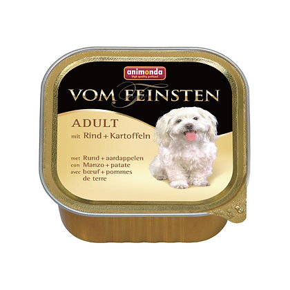 Animonda Vom Feinsten 成犬配方 牛肉+薯仔 150g #N41