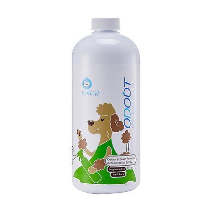 臭味滾 (狗用)除臭/抑菌噴霧補充瓶 1L (Q25)
