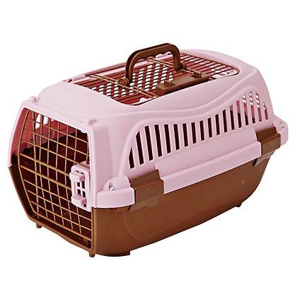 Petio寵物雙門手提籠 粉色S #F56 (W22022)