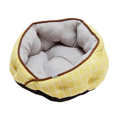 Cuna 圓形窩寵物床 黃色 #H41(A25612)