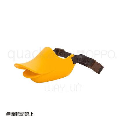 OPPO #P14犬用閉口式鴨咀口罩 M (橙色)