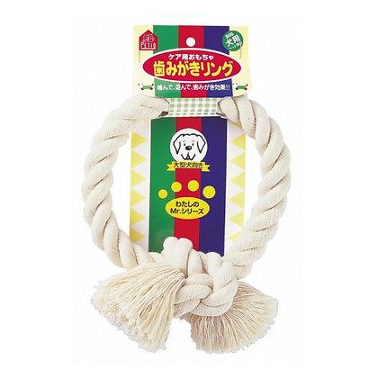 Petio大型犬麻繩潔齒環狗玩具