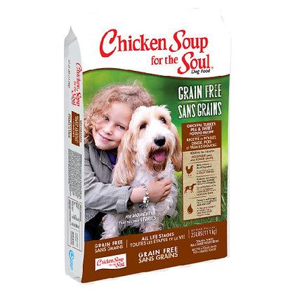 Chicken Soup 全犬 無穀物雞肉+火雞+豌豆+甘薯配方
