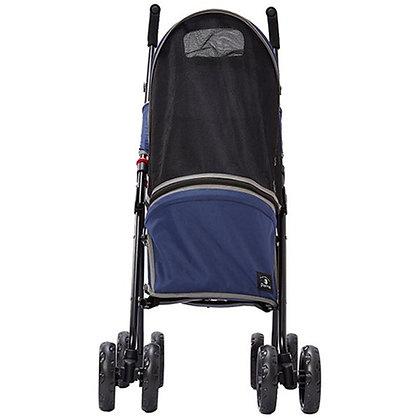 Porta寵物外出輕便折疊手推車 (藍色)#F136(W26129)