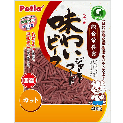 Petio狗小食全面營養濃郁牛肉粒 400g #A125(W12328)