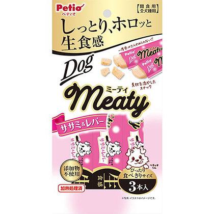 Petio狗小食 無添加.生食感 雞胗&雞胸肉肉醬 3支裝 #A158(W13538)