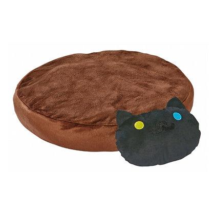 Petio貓貓後院系列.貓枕頭軟墊(咖啡色)