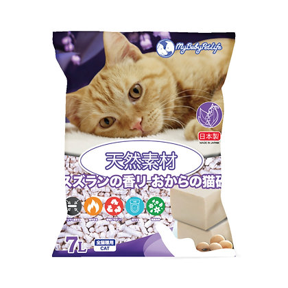 My Baby Pet Life 日本製鈴蘭香味豆腐貓砂 7L
