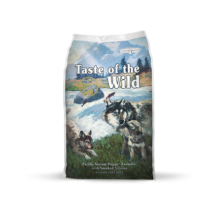 Taste of the Wild 無穀物煙燻三文魚幼粒配方(全犬糧 | 國際版)