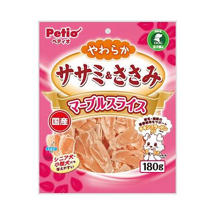 Petio狗小食牛奶雞胸肉薄片180g #A38  (W13163)