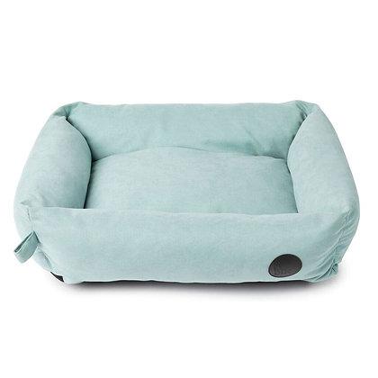 簡約寵物長型梳化床(粉藍色L) K28