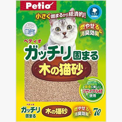 Petio特強凝結抗菌木貓砂(7升)