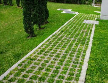 green block garden block bloque grilla
