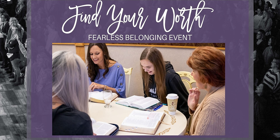 Find Your Worth..Fearless Belonging Host