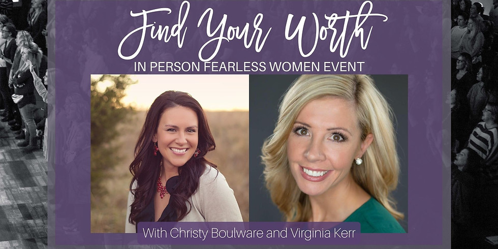 Find Your Worth...IN PERSON EVENT