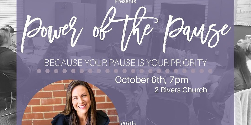 IN PERSON - Power of the Pause: A Fearless Women Workshop