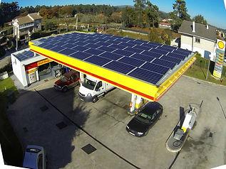 Estación de servicio solar