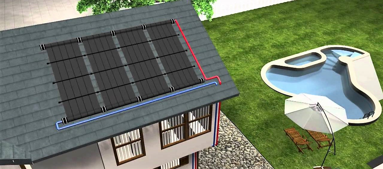 esquema piscina climatizada
