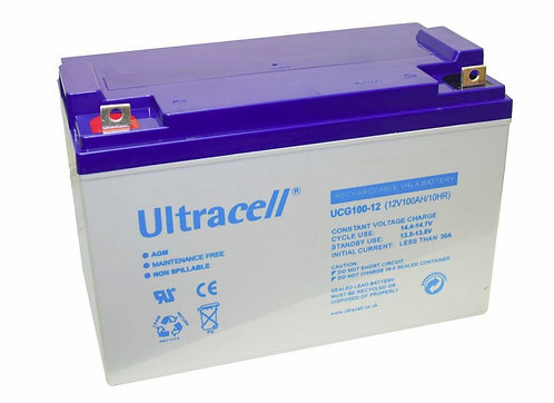 Bateria Ultracell 12v 100ah