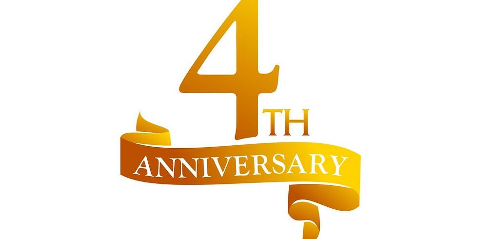 4th Year Anniversary