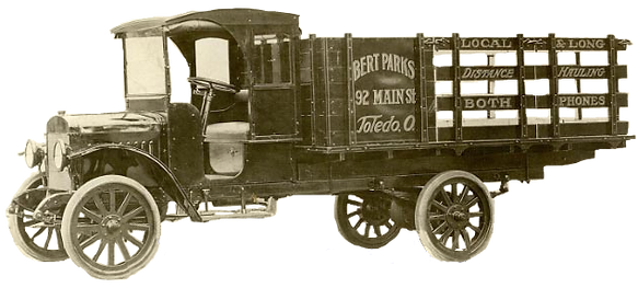 Vero Beach Moving Company hstory picture of first truck