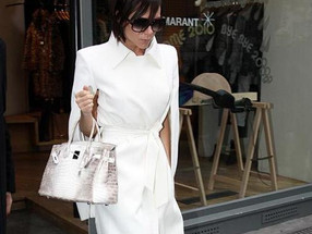 Let's Assess The Accessory - Victoria Beckham's Newest Birkin Baby...