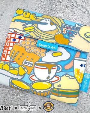 Snack'n'Go 香港傳統小食食物袋 (防漏   乾、濕食物適用)