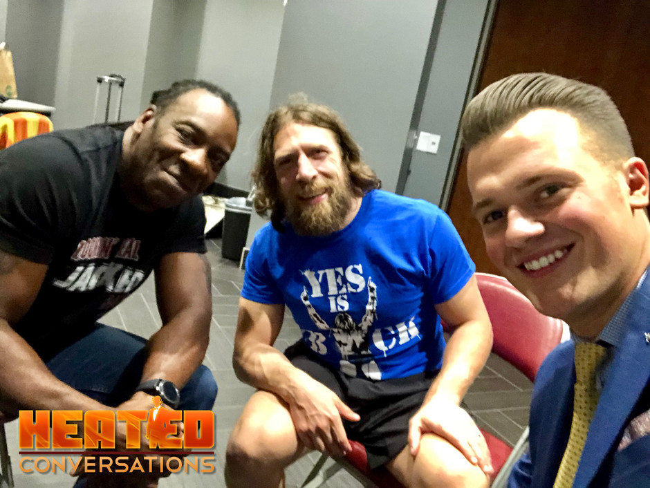 Daniel Bryan on Heated Conversations (40 Minute Interview)