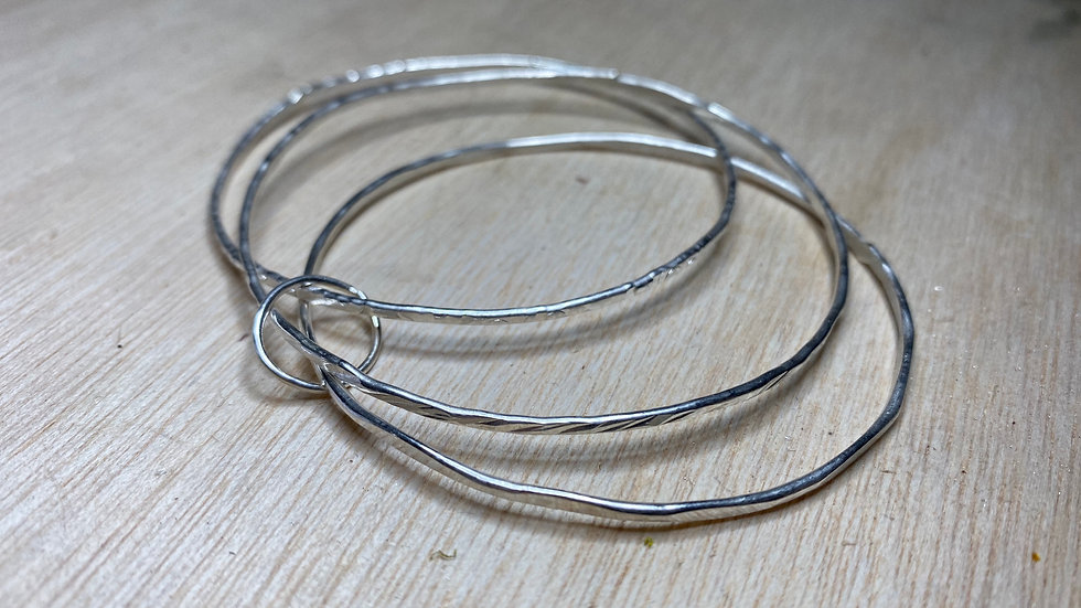 5 Ring Birthday Bangle