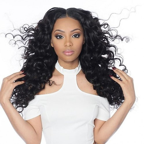 Virgin Human Hair Lace Front Brazilian Wavy Closure 4x4