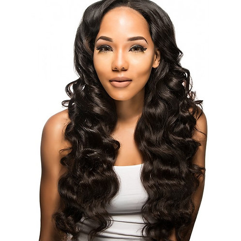 Virgin Human HairLace Front Eurasian Body Wave Closure 4x4