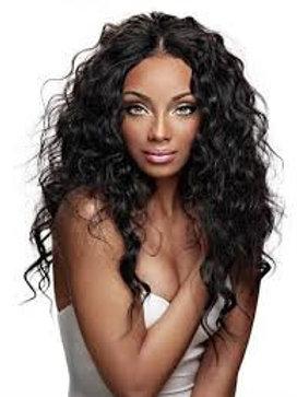 Virgin Human Hair Lace Front Malaysian Wavy Closure 4x4