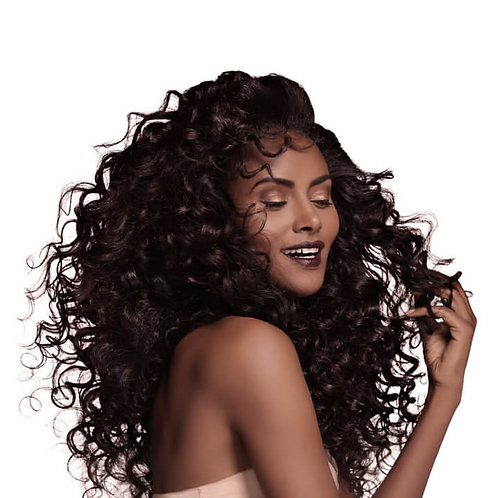 Peruvian  Romance Curls Virgin Human Hair