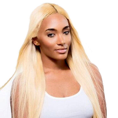 Virgin Human Hair Lace Frontal Russian Blonde Straight Closure 4x13