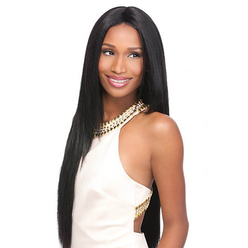 Virgin Human Hair Lace Front Indian Straight Closure 4x4