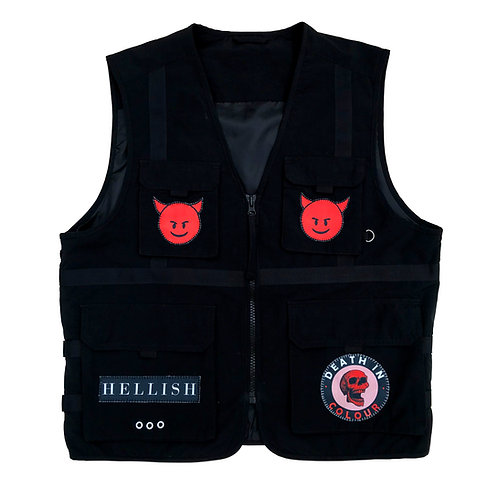 SATAN Pocket Vest - Large