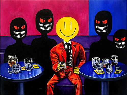 HAPPY JUICE Original Painting