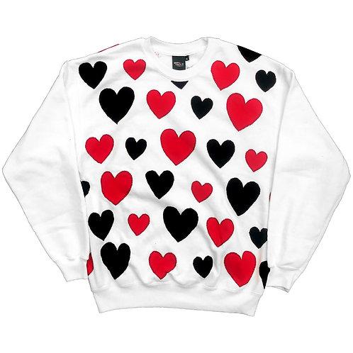 HEARTS Sweatshirt - XLarge