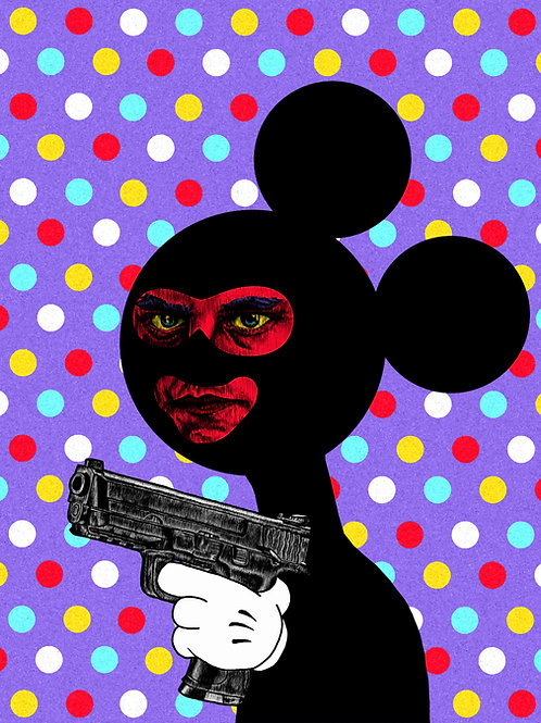 MICKEY IMPOSTER 8x10 Print